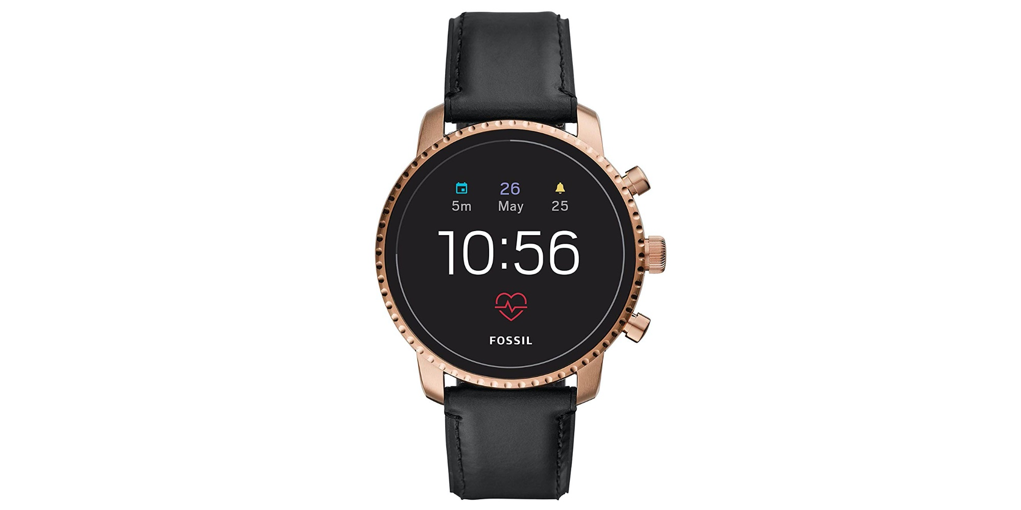 Fossil's Explorist HR Smartwatch with leather or steel bands: $149 (Reg. $199)