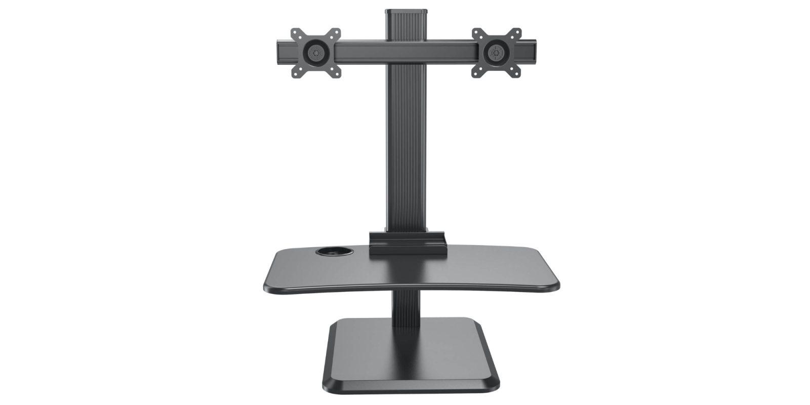 Add Halter's Sit Stand Desk Converter to your workstation for $90 (Reg. $150)