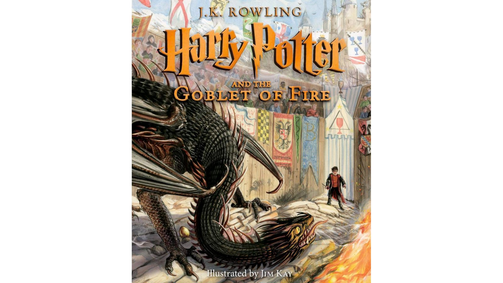 Enjoy Harry Potter and the Goblet of Fire in illustrated glory for just $19