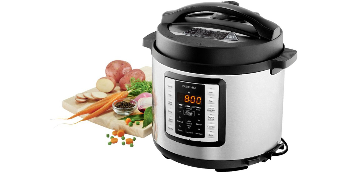 Put 6-quarts of highly-rated multi-cooker in your kitchen for just $30 today