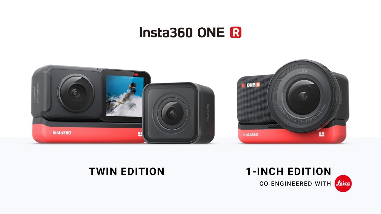Insta360 One R modular action cam