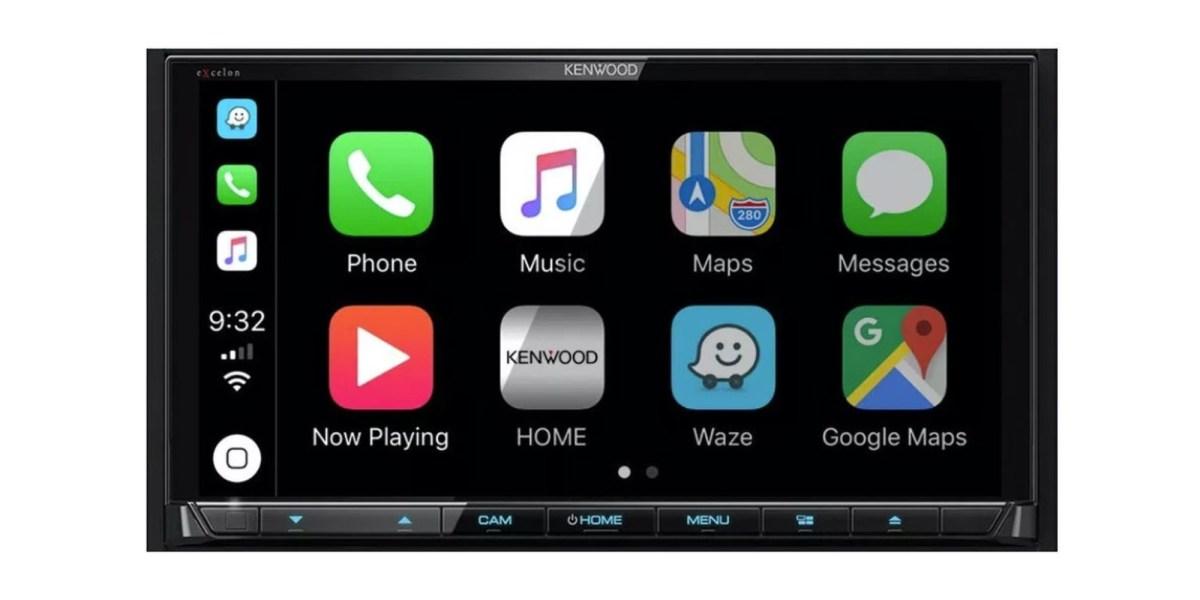 Wireless CarPlay receiver