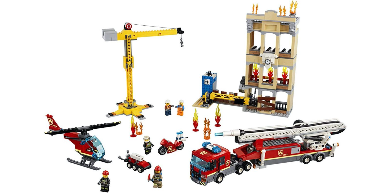 LEGO's Downtown Fire Brigade kit sees rare discount to $81 (Reg. $100), more