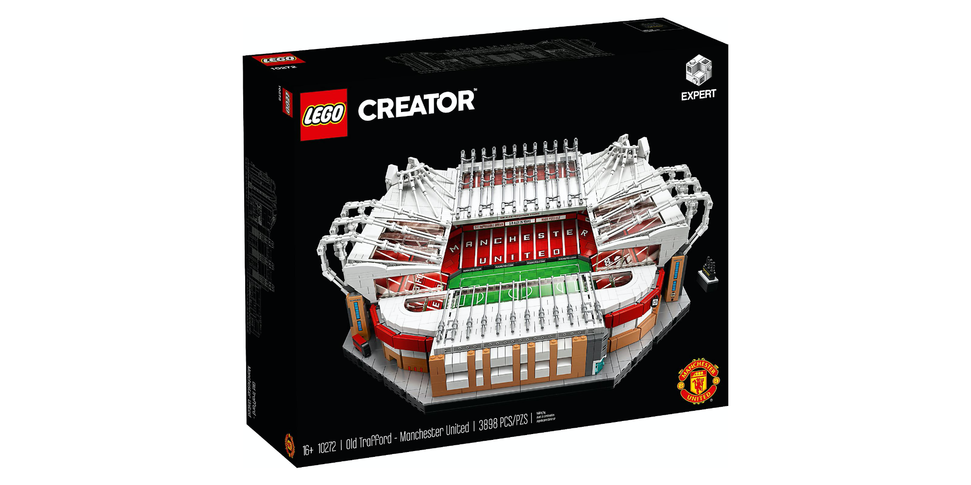 LEGO Manchester United Stadium debuts with 3,900-pieces ...
