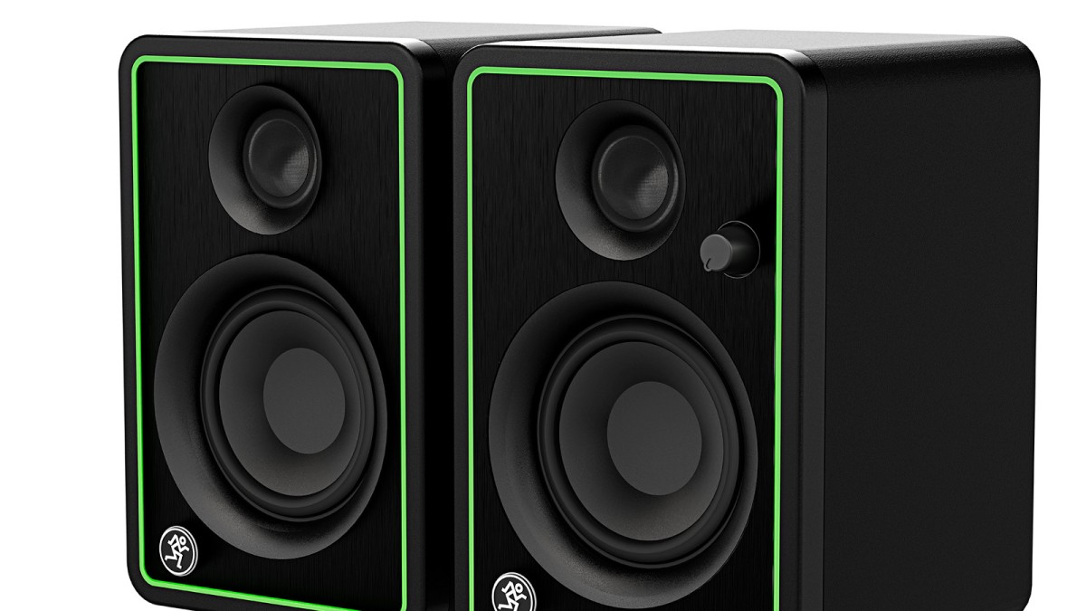 Mackie studio monitors-CRX