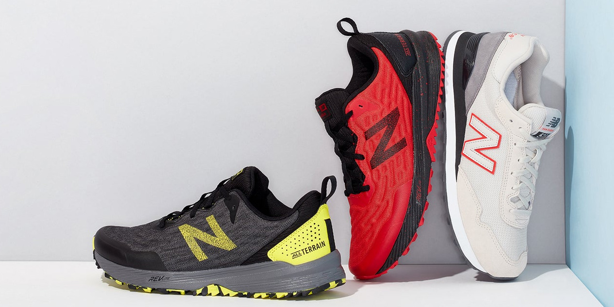 New Balance shoes for the entire family