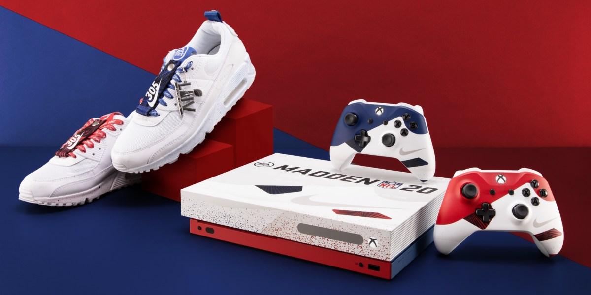 Nike Air Max Xbox console