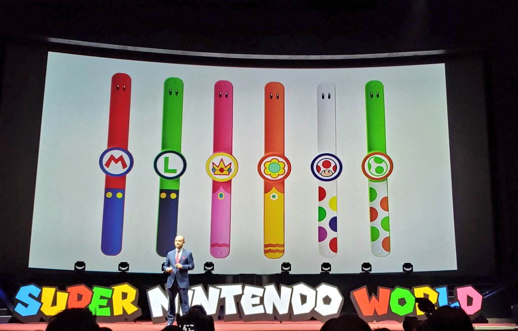 Nintendo theme park wearable