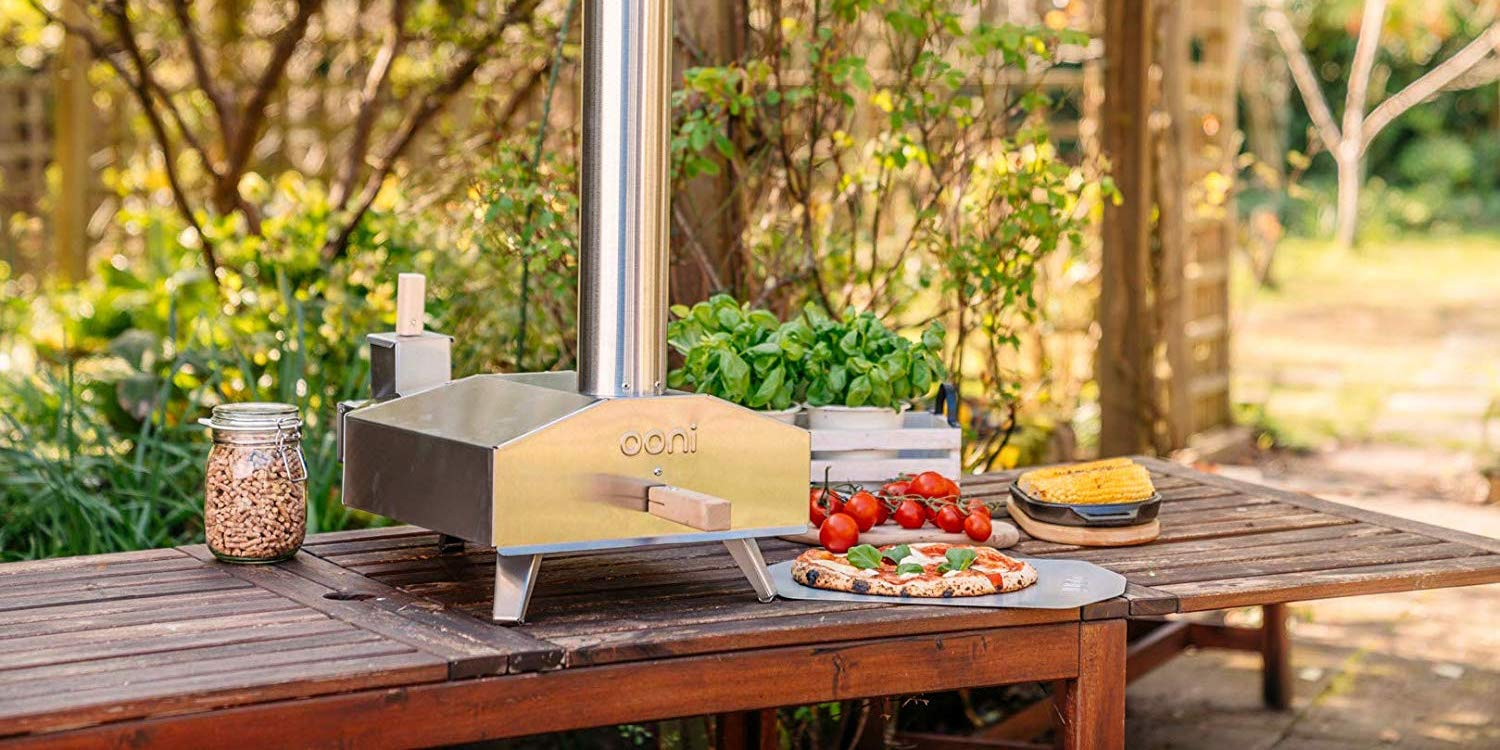 Make your own wood-fired pizza in the Ooni 3 Outdoor Oven, now $75 off