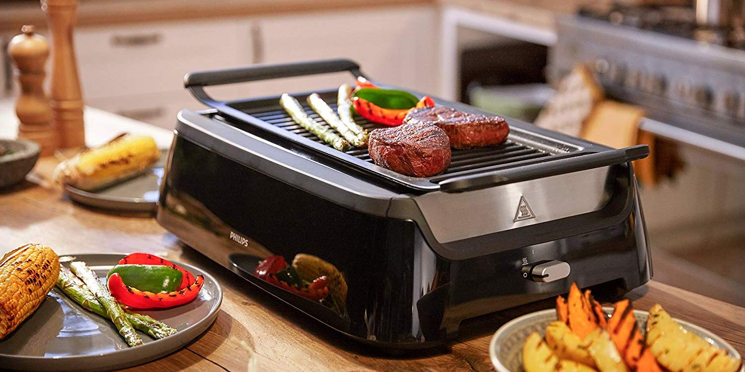 Philips' Indoor BBQ will have you grilling all winter long at $120 (Reg. $280)