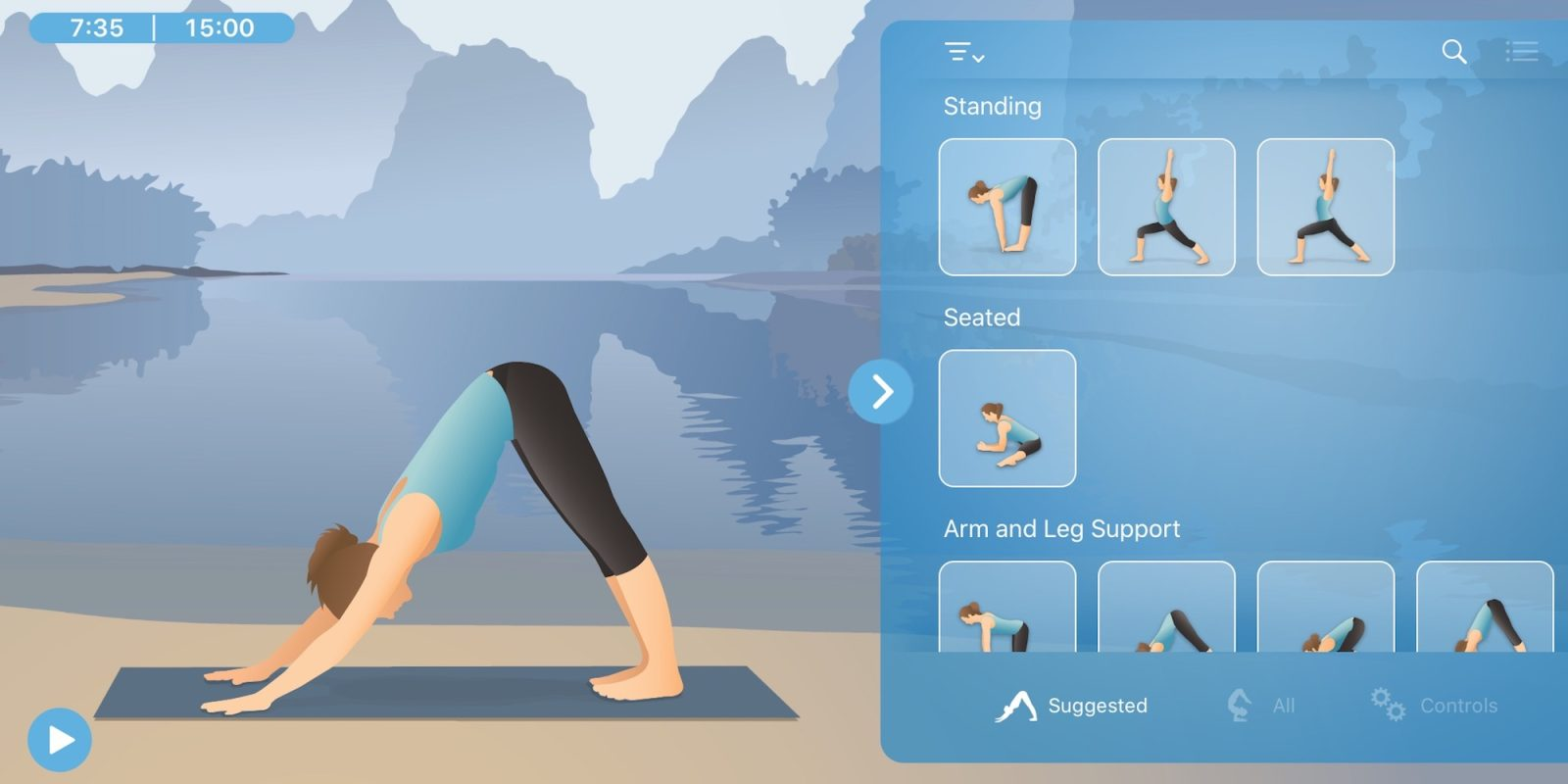 Hire a personal Pocket Yoga Teacher on iOS or Mac for FREE today (Reg. $10)