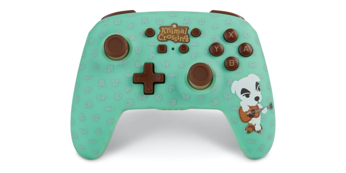 Animal Crossing Switch controller