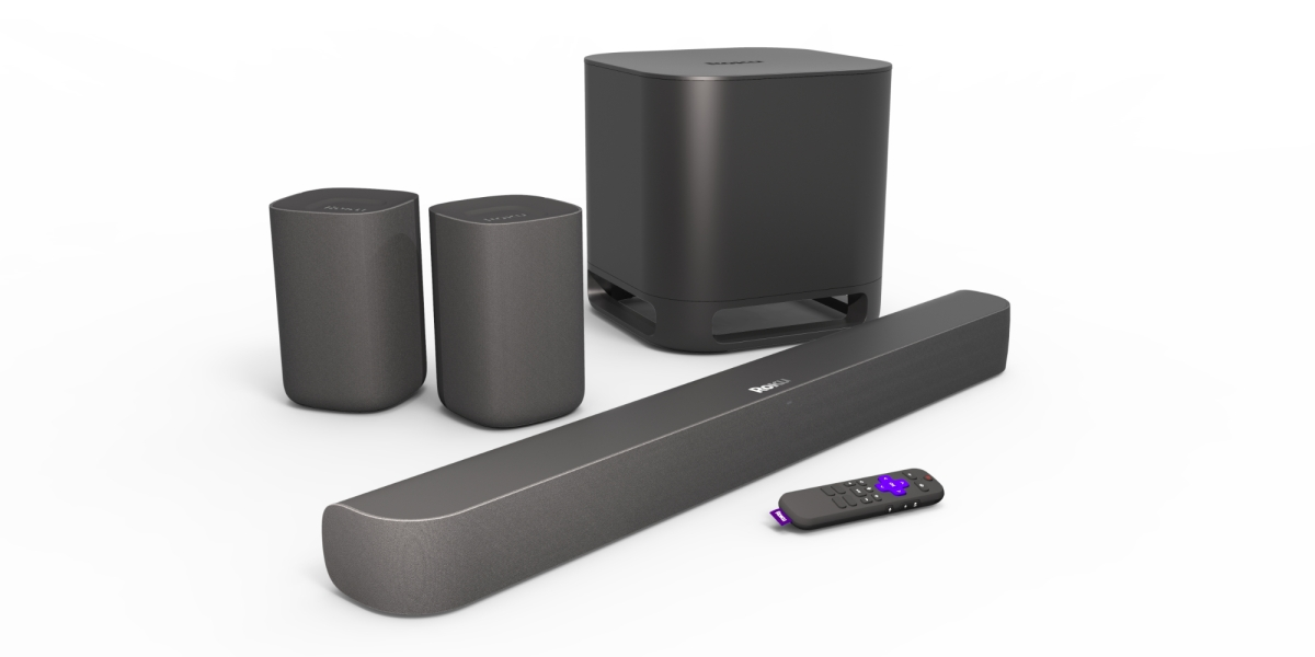 Roku surround sound