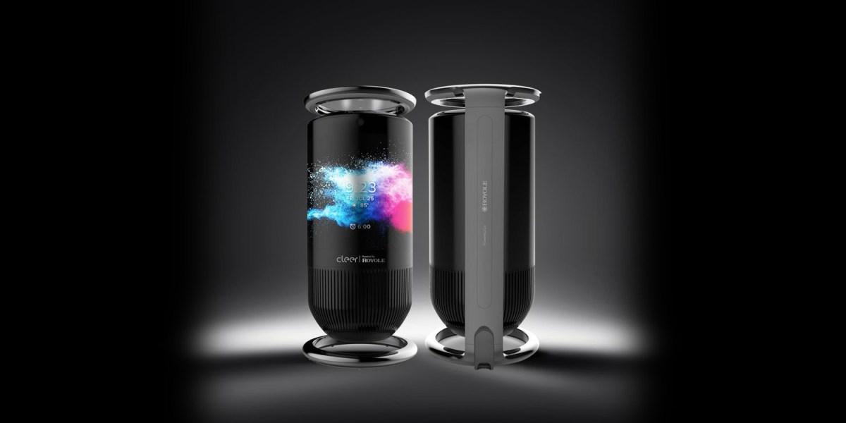Royole Mirage touch display smart speaker