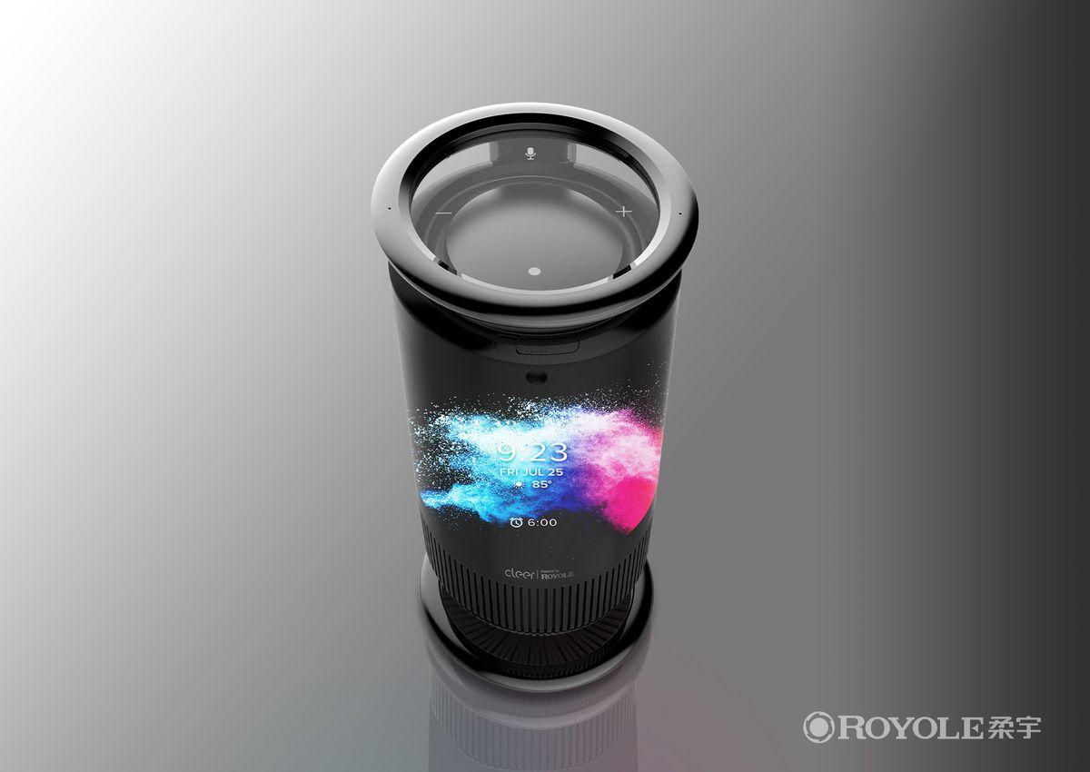 Royole Mirage Smart Speaker top view
