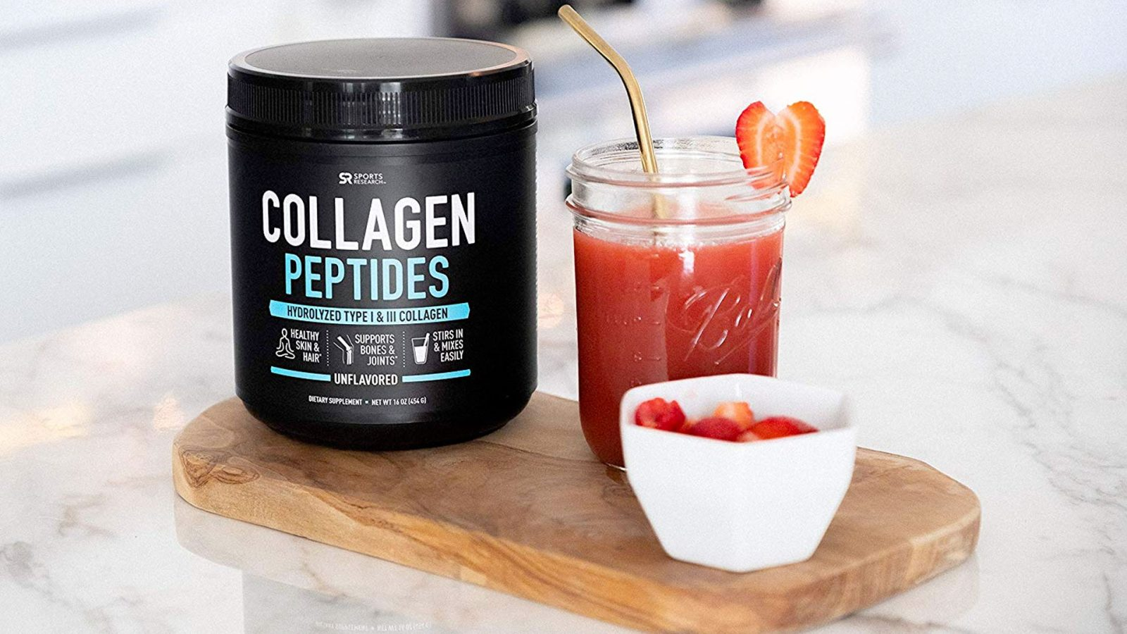 Stay toned in 2020 with collagen peptides and more from $16.50 at Amazon