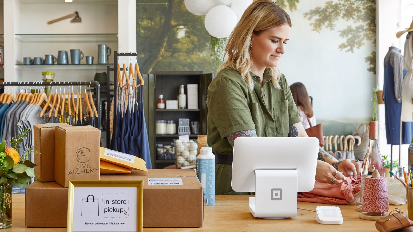 Start your business with a Square Stand + Apple Pay reader at $120 (Reg. $170)