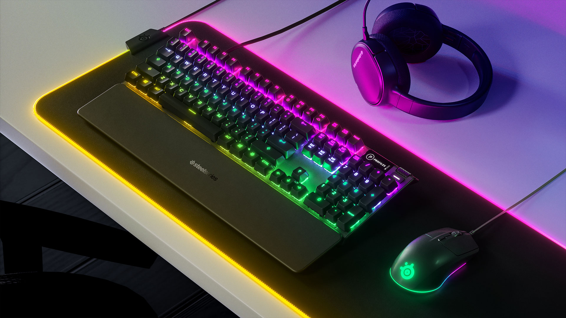 SteelSeries Apex 3 Gaming Keyboard