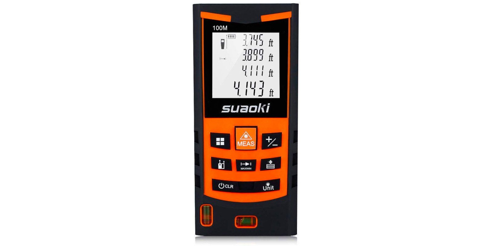 Finish your DIY project with this 330-foot laser distance measure at $29.50