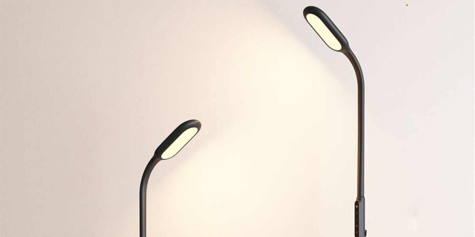 Save 40% on the TaoTronics 12W dimmable LED gooseneck floor lamp at $30