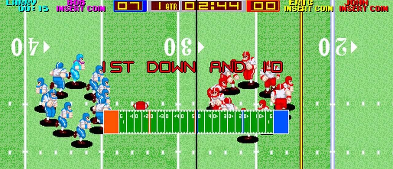 Tecmo Bowl arcade version hits tomorrow
