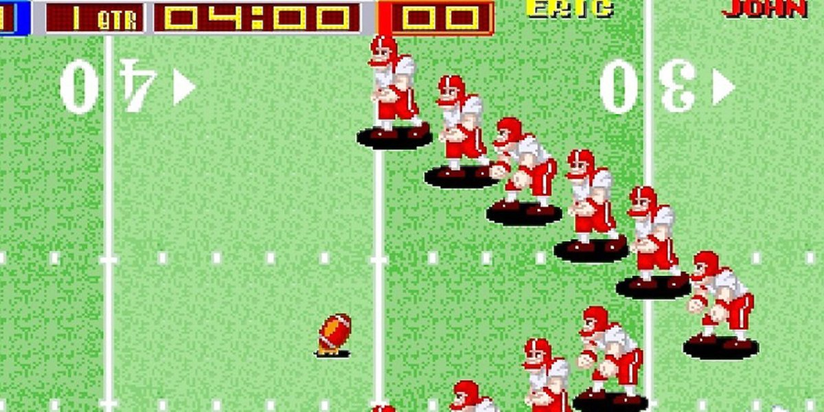Tecmo Bowl arcade for Switch