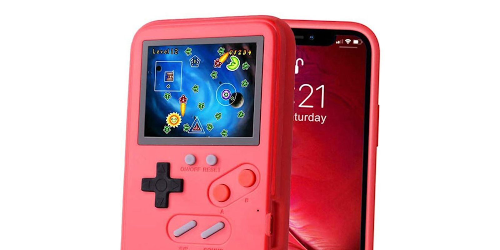 This case turns your iPhone into a retro handheld console for just $19