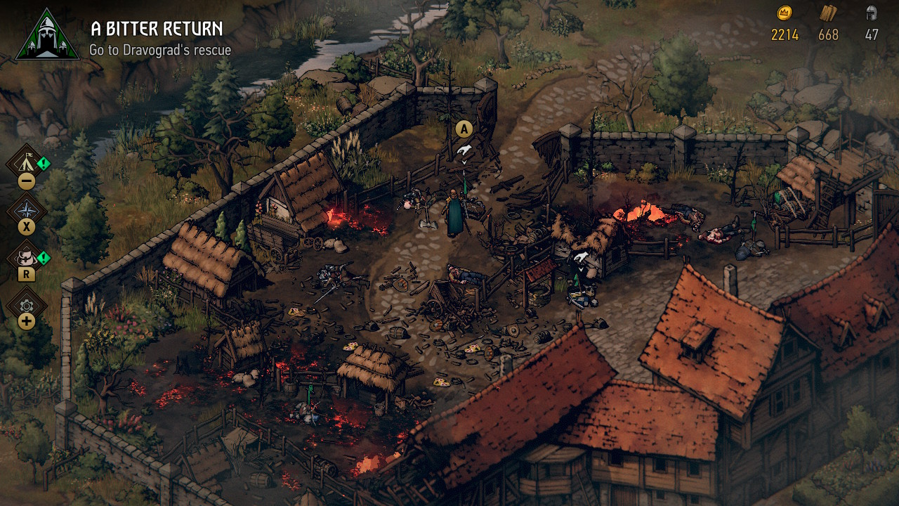 Thronebreaker The Witcher Tales for Switch