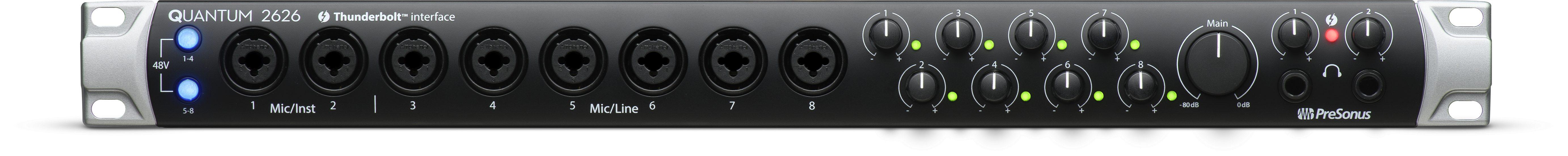 Thunderbolt 3 audio interface from PreSonus