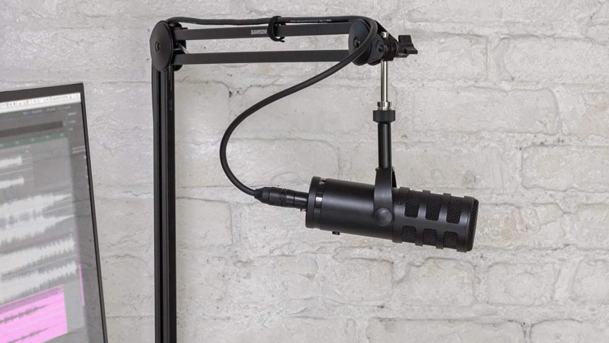 New USB-C microphone - SamsonQ9UProfessional Broadcast