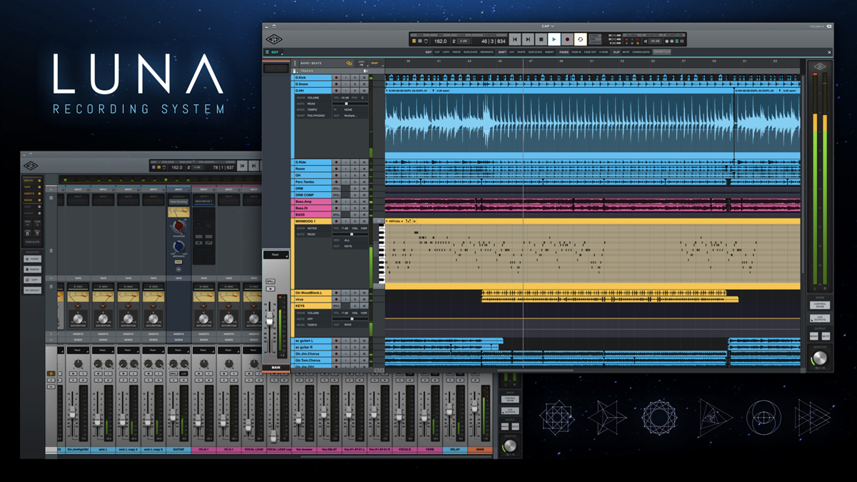 Universal Audio Luna at NAMM 2020