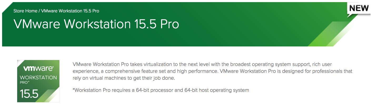 Workstation 15.5 Pro VMware promo code