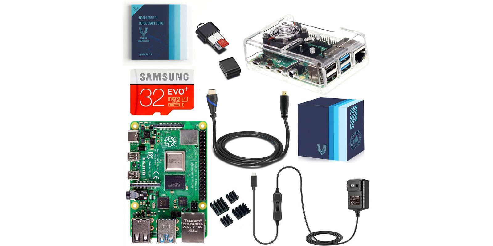 Add a Raspberry Pi 4 2GB starter kit to your smart home at just $65 (Reg. $90)