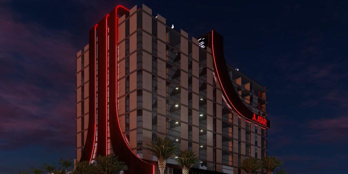 Atari Hotels render 1