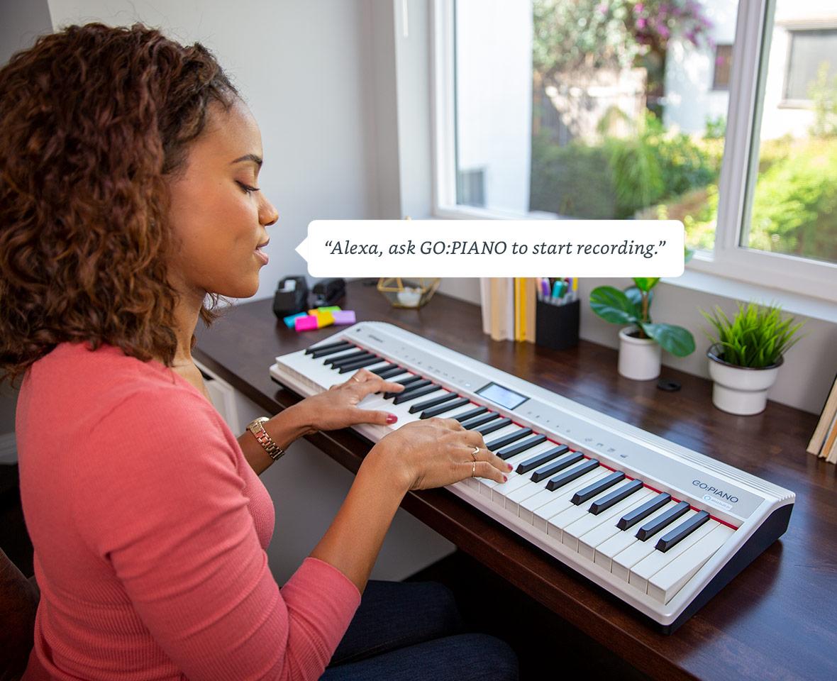 Roland Alexa piano voice commands