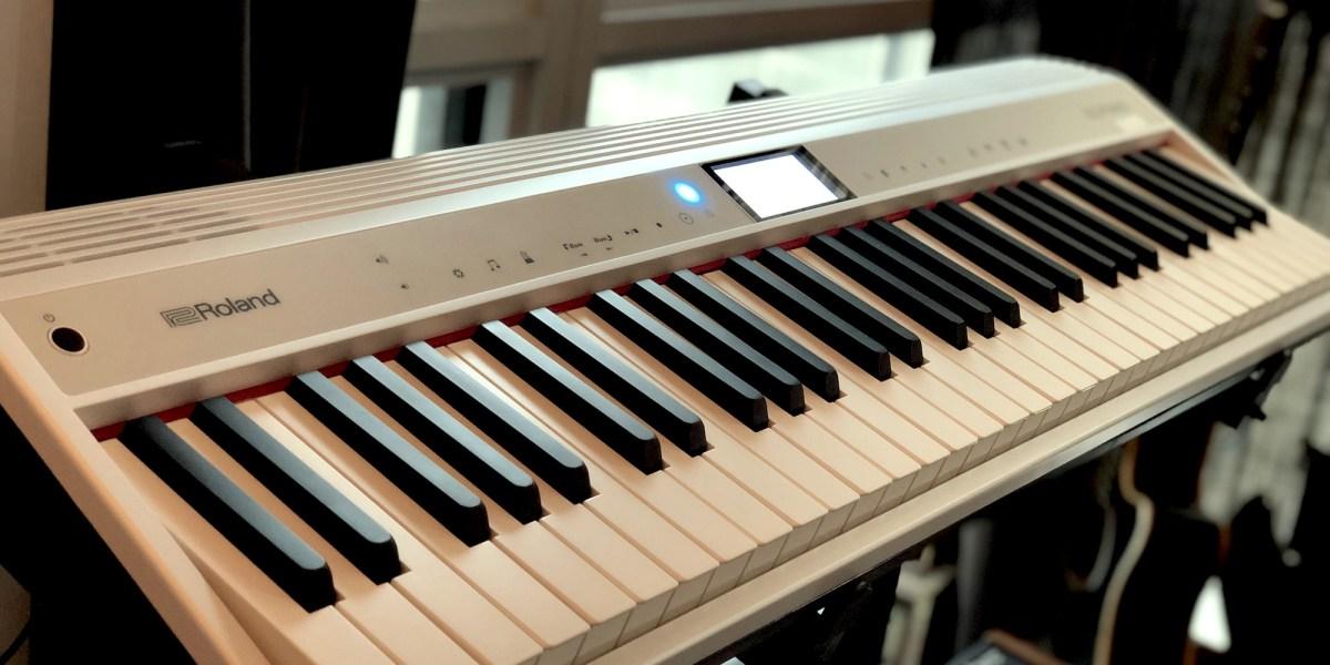 Alexa keyboard - GO:PIANO review hero