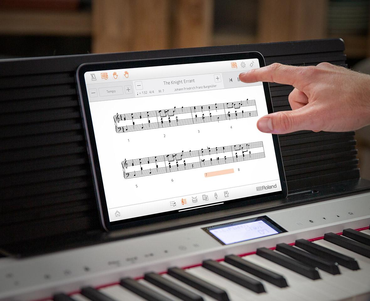 New learning Alexa piano from Roland