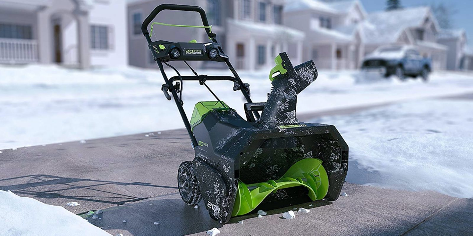 Greenworks 20-inch Cordless Snow Thrower hits $221 (38% off), more from $103