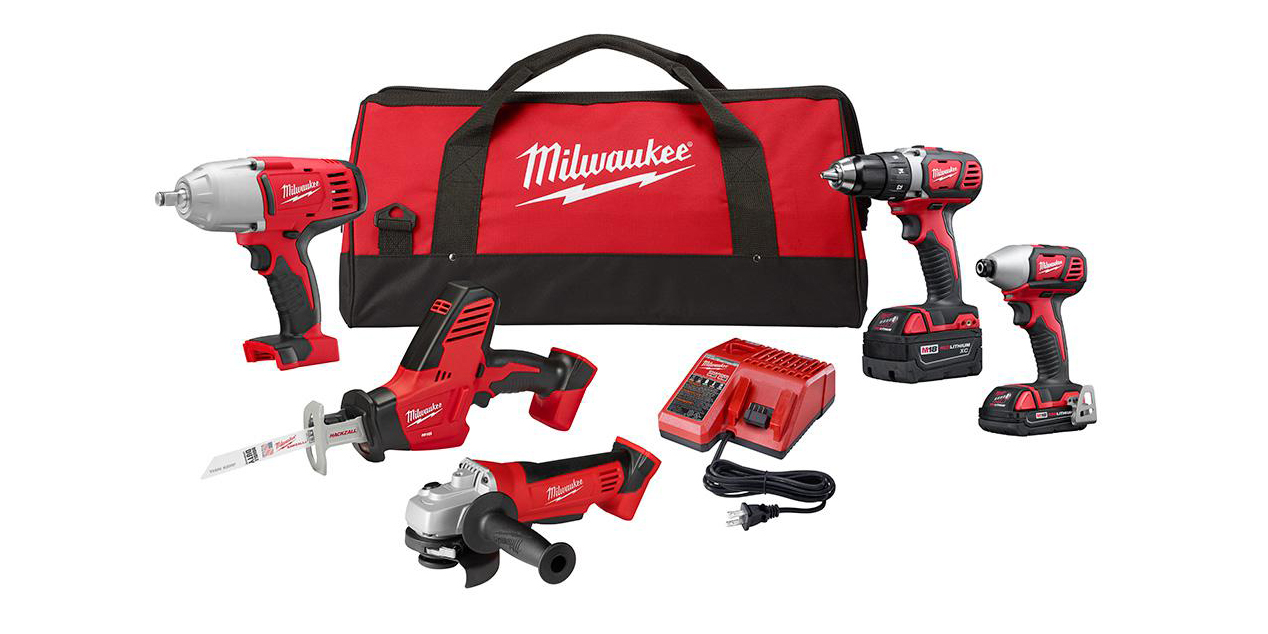 Milwaukee M18 5-tool Combo Kit delivers all the DIY essentials for $299