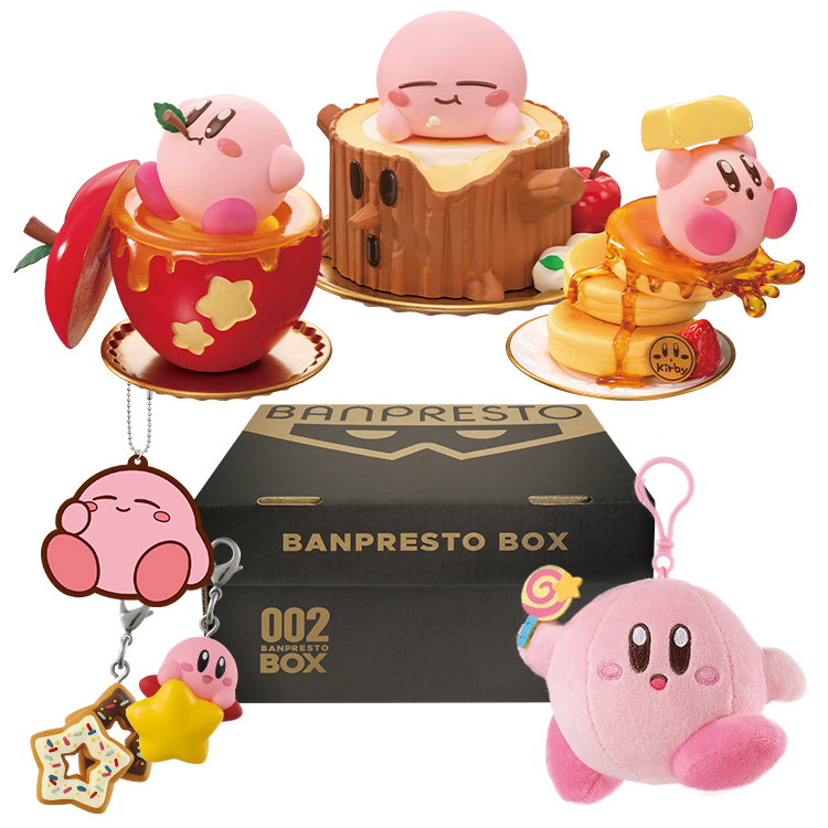 New Kirby collectibles from Bandai