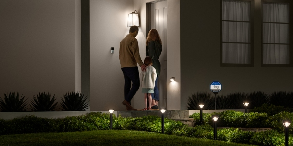 ring solar lights