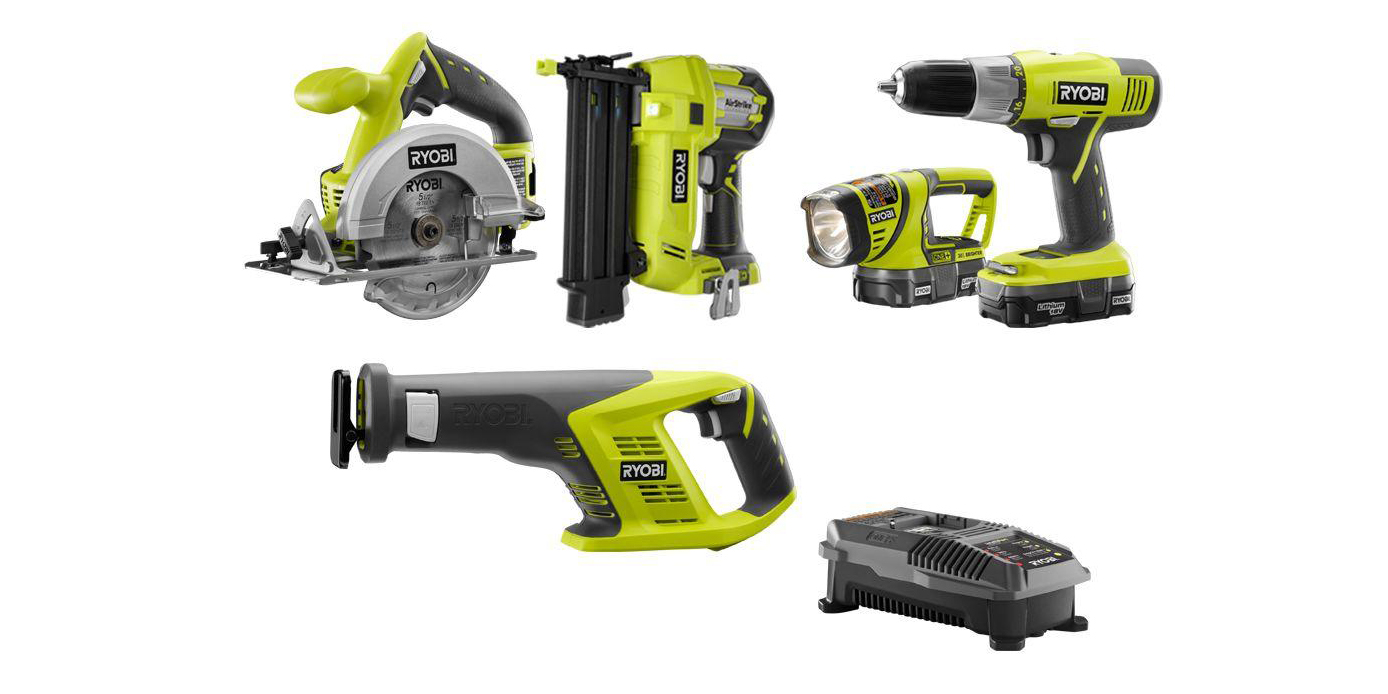 Save on DEWALT, Ryobi, and Milwaukee tools from $17, today only at Home Depot