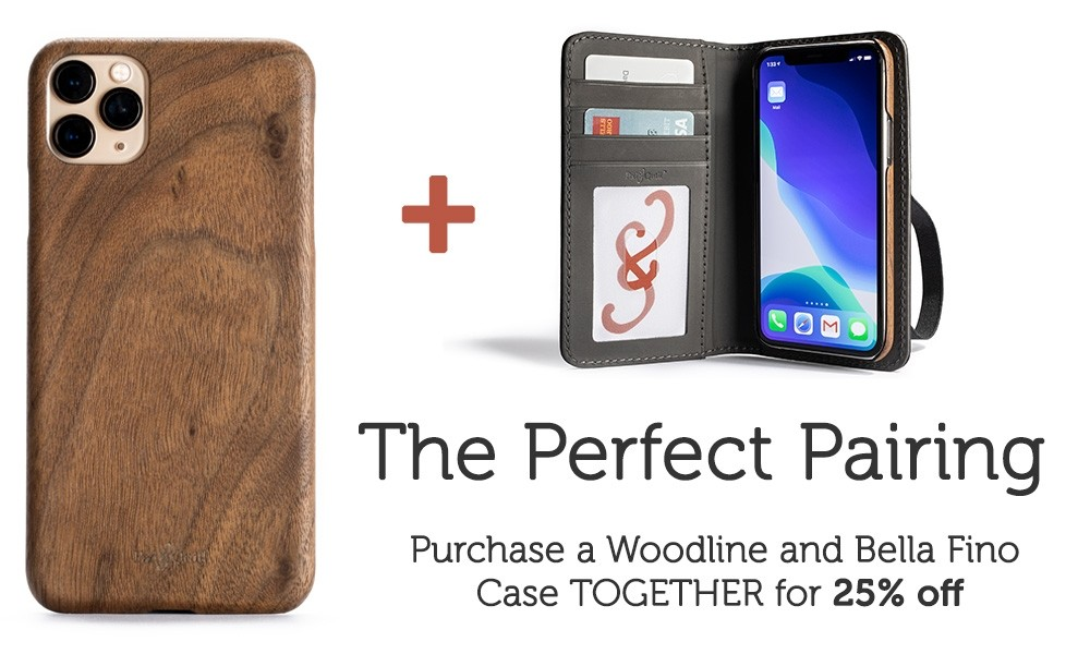 wooden iPhone cases from Pad & Quill
