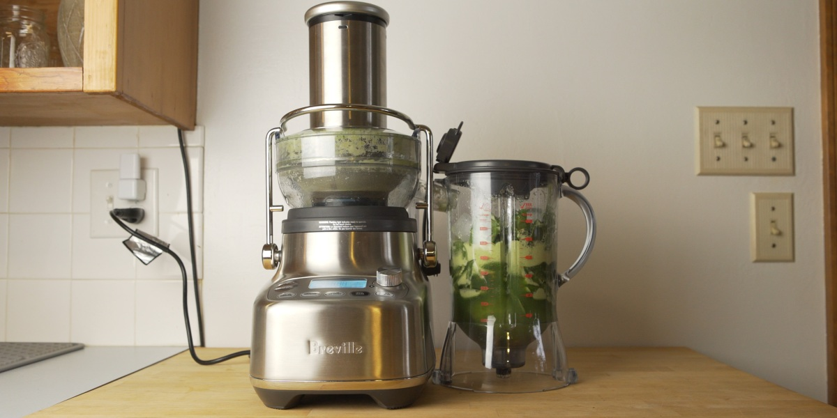 Testing recipes from the Breville 3X Bluicer Pro
