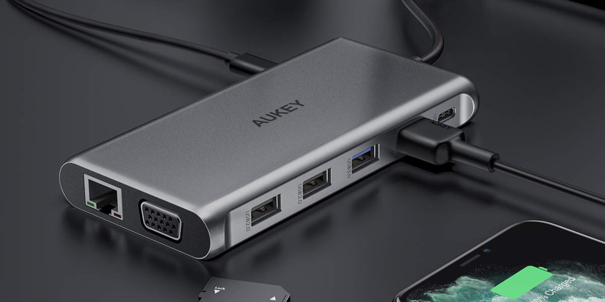 Broaden your Mac's capabilities with an AUKEY 12-in-1 USB-C Hub: $46 (Reg. $80) - 9to5Toys