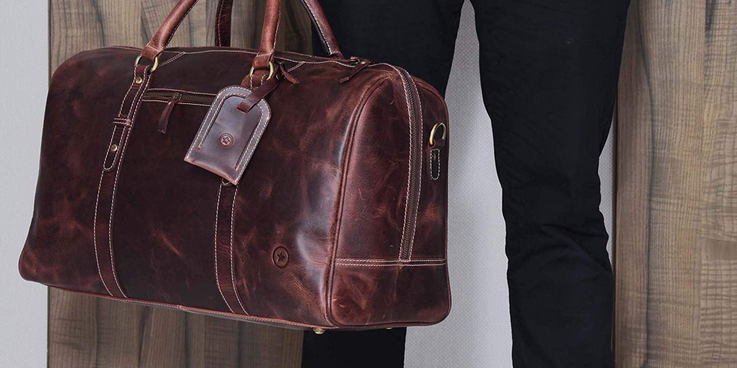 Score a new leather messenger or weekender bag from $49 today (Up to 46% off) - 9to5Toys