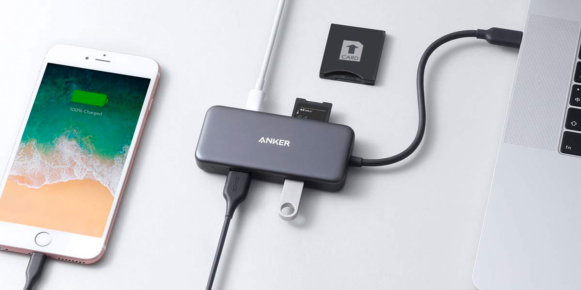 Expand your MacBook's I/O with these Anker USB-C hubs at $17 each (Reg. $26) - 9to5Toys