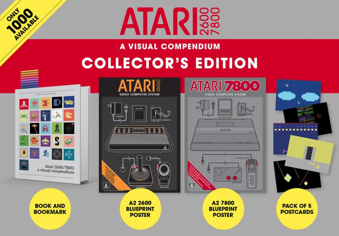 Atari art book Collector's Edition