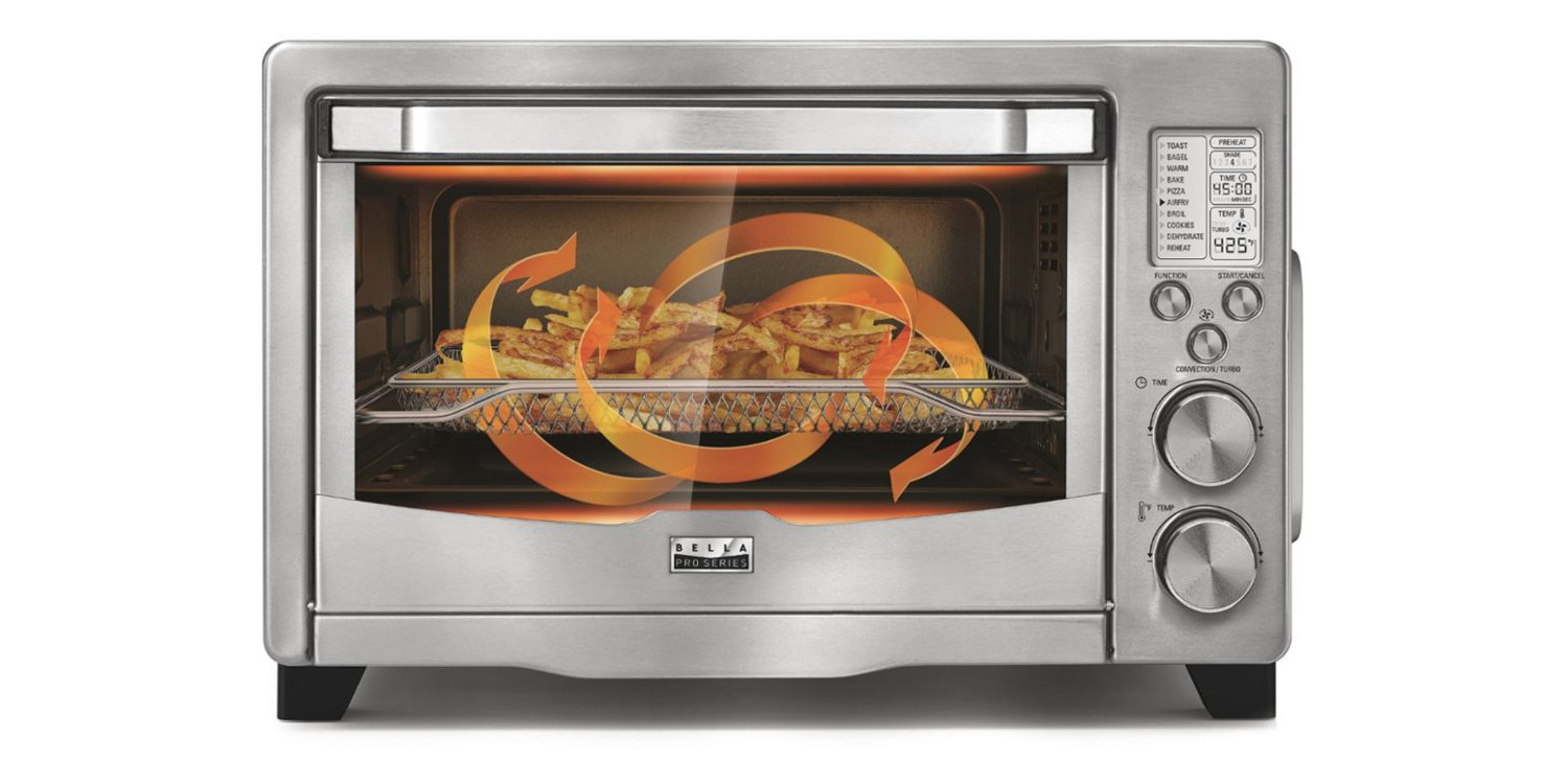 This multi-function toaster oven is also an air fryer at $60 (Reg. up to $130)