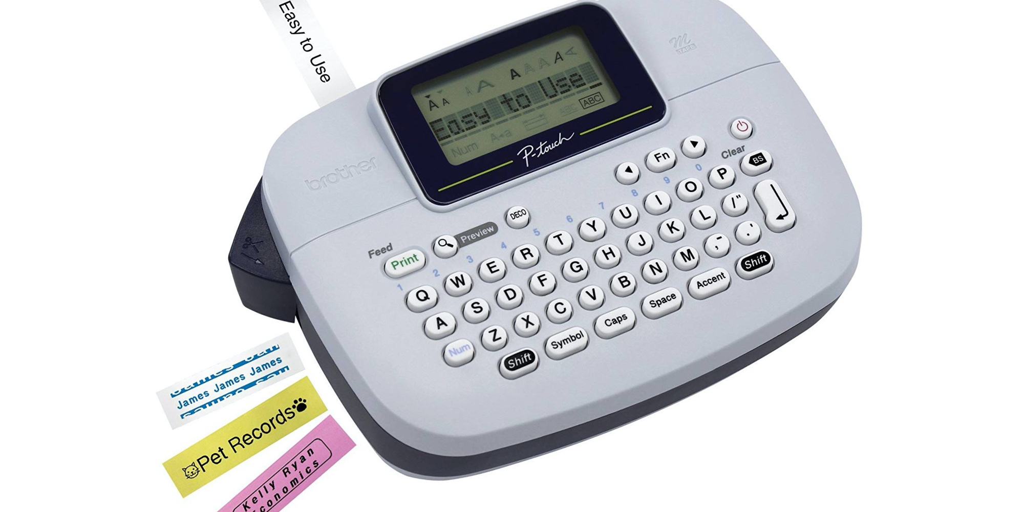Just $10 scores you Brother's P-touch Label Maker at an Amazon low (Save 60%) - 9to5Toys
